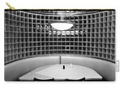 Dining In Black And White Carry-all Pouch by David Lee Thompson