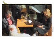 Dining Out With The Family Carry-all Pouch
