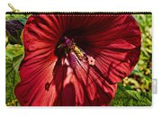 Dinner Plate Hibiscus Carry-all Pouch