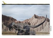 Dino's In The Badlands Carry-all Pouch