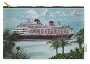 Disney Fantasy At Castaway Cay Carry-all Pouch