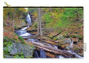 Distant Ozone Falls And Rapids In Autumn Carry-all Pouch