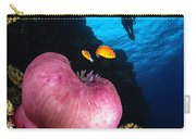 Diver And Magnificent Anemone, Fiji Carry-all Pouch