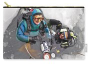 Diving In The Ice Carry-all Pouch