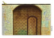 Do-00489 Old Door Within A Door-crackles Carry-all Pouch