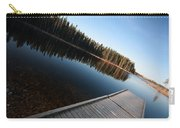 Dock On Northern Manitoba Lake Carry-all Pouch