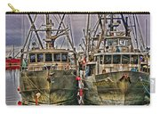Docked Fishing Boats Hdr Carry-all Pouch
