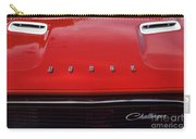 Dodge Challenger Hood And Grill Carry-all Pouch