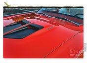 Dodge Super Bee Hood  In Red Carry-all Pouch