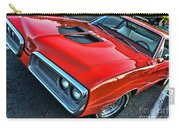 Dodge Super Bee In Red Carry-all Pouch