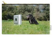 Dog Watching Tv Carry-all Pouch