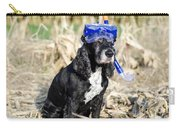 Dog With Diving Mask Carry-all Pouch