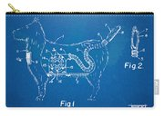 Doggie Vacuum Patent Artwork Carry-all Pouch