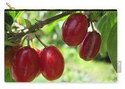 Dogwood Cornus Mas Berries Carry-all Pouch