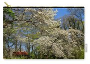 Dogwood Grove Carry-all Pouch by Debra and Dave Vanderlaan