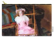 Doll In Carriage Carry-all Pouch