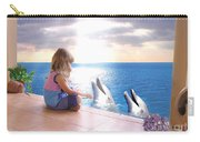 Dolphin Family Carry-all Pouch