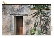 Door In Spanish Mission Building Carry-all Pouch