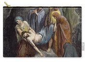 Burial Of Jesus Carry-all Pouch