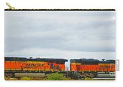 Double Bnsf Engines Carry-all Pouch