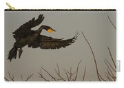 Double Crested Cormorant Coming Carry-all Pouch