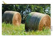 Double Hay Rolls Carry-all Pouch