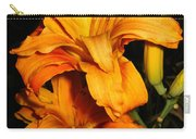 Double Orange Daylilies Carry-all Pouch