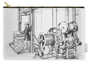 Double Oscillating Steam Engine Carry-all Pouch