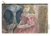 Double Portrait Of Charley And Jeannie Thomas Carry-all Pouch