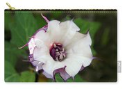 Double Purple Datura Carry-all Pouch