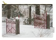 Double Red Iron Gates Carry-all Pouch