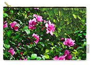 Double Rose Of Sharon Carry-all Pouch