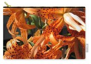 Double Tiger Lily Named Flora Pleno Carry-all Pouch