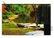 Down By The Riverside Carry-all Pouch by Karen Wiles