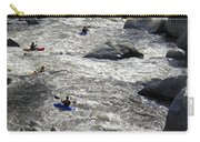 Down The Feather River Carry-all Pouch