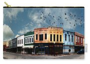 Downtown Bryan Texas Panorama 5 To 1 Carry-all Pouch