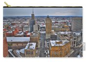 Downtown Court St Winter Scene Carry-all Pouch