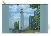 Downtown Detroit Lighthouse Carry-all Pouch