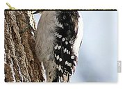 Downy Woodpecker 4 Carry-all Pouch