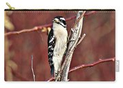 Downy Woodpecker 6 Carry-all Pouch