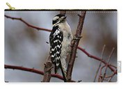 Downy Woodpecker 7 Carry-all Pouch