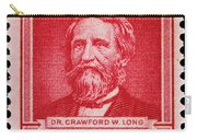 Dr Crawford W Long Postage Stamp Carry-all Pouch