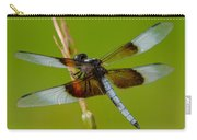 Dragon Fly Green Carry-all Pouch