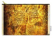 Dragon Painting On Old Paper Carry-all Pouch by Setsiri Silapasuwanchai