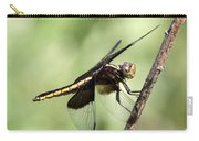 Dragonfly - Yellow Stripe Carry-all Pouch