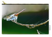 Dragonfly In The Wind Carry-all Pouch