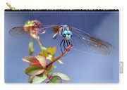 Dragonfly Visit Carry-all Pouch