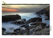 Dramatic Coastline Carry-all Pouch by Carlos Caetano