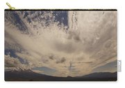 Dramatic Sky Over Mount Shasta Carry-all Pouch