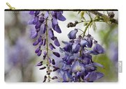 Draping Lavender Purple Wisteria Vines Carry-all Pouch